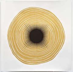 Tree Rings for Judith Pancake (Gold) 1