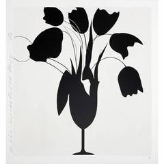 Black Tulips and Vase (Feb 26, 2014)