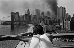 Manhattan Bridge East River New York 2001