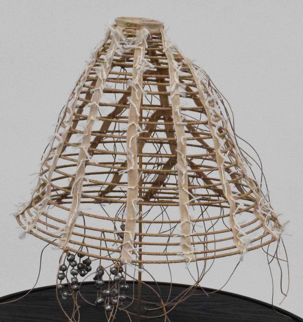 3ed1b906c24 Holly Laws Figurative Sculpture - Cage Crinoline 1865