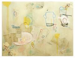 Edno Elahpecib - Horizontal Yellow Street Art Painting