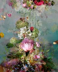 Sinking #3 - Floral still life contemporary photography