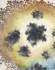Dimorphous - cellular dot painting