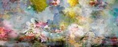 Song for dead heroes #7 - Floral still life landscape composition pastel color