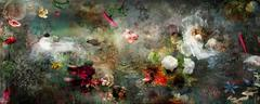 Song for dead heroes #2 dark color floral landscape photo composition