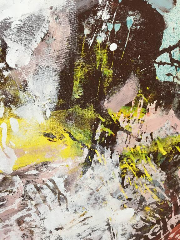 Amelie Ducommun - Unfolding Memories #3- Abstract painting ...