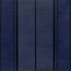 Passage 11 - large dark blue abstract contemporary oil panting