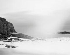 String, Cloth, and Kite 03 - serene scandinavian black and white landscape photo