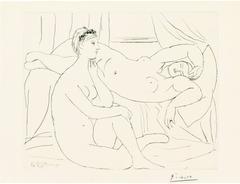 Pablo Picasso - »Femmes se reposant«