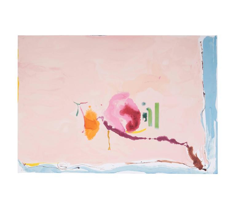 Helen Frankenthaler - Flirt 1