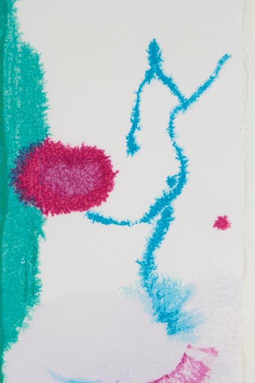 Beginnings - Abstract Print by Helen Frankenthaler