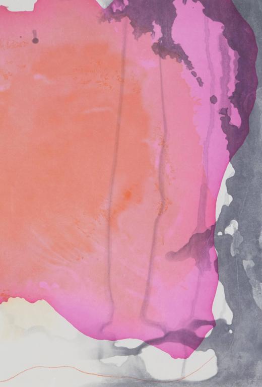 Causeway - Abstract Print by Helen Frankenthaler