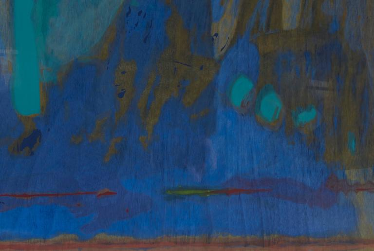 Tales of Genji III - Abstract Print by Helen Frankenthaler
