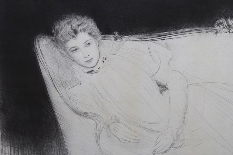Paul Cesar Helleu (French, 1859-1927)