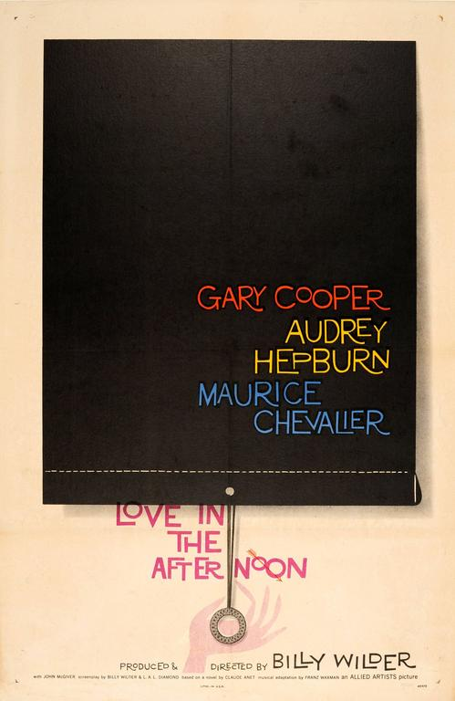 Saul Bass - Original Saul Bass Movie Poster: Love In The ...