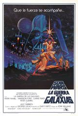 Original Vintage 1977 Iconic Movie Poster By The Hildebrandt Bros For Star Wars