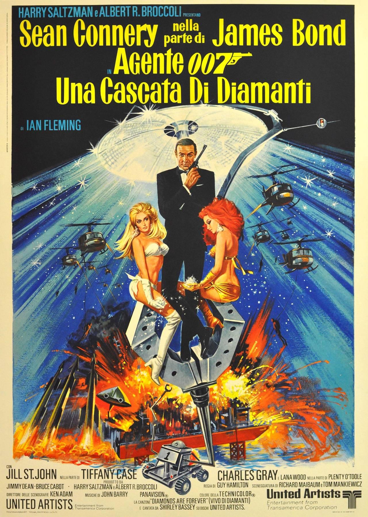 Robert McGinnis - Original Vintage James Bond Movie Poster ...