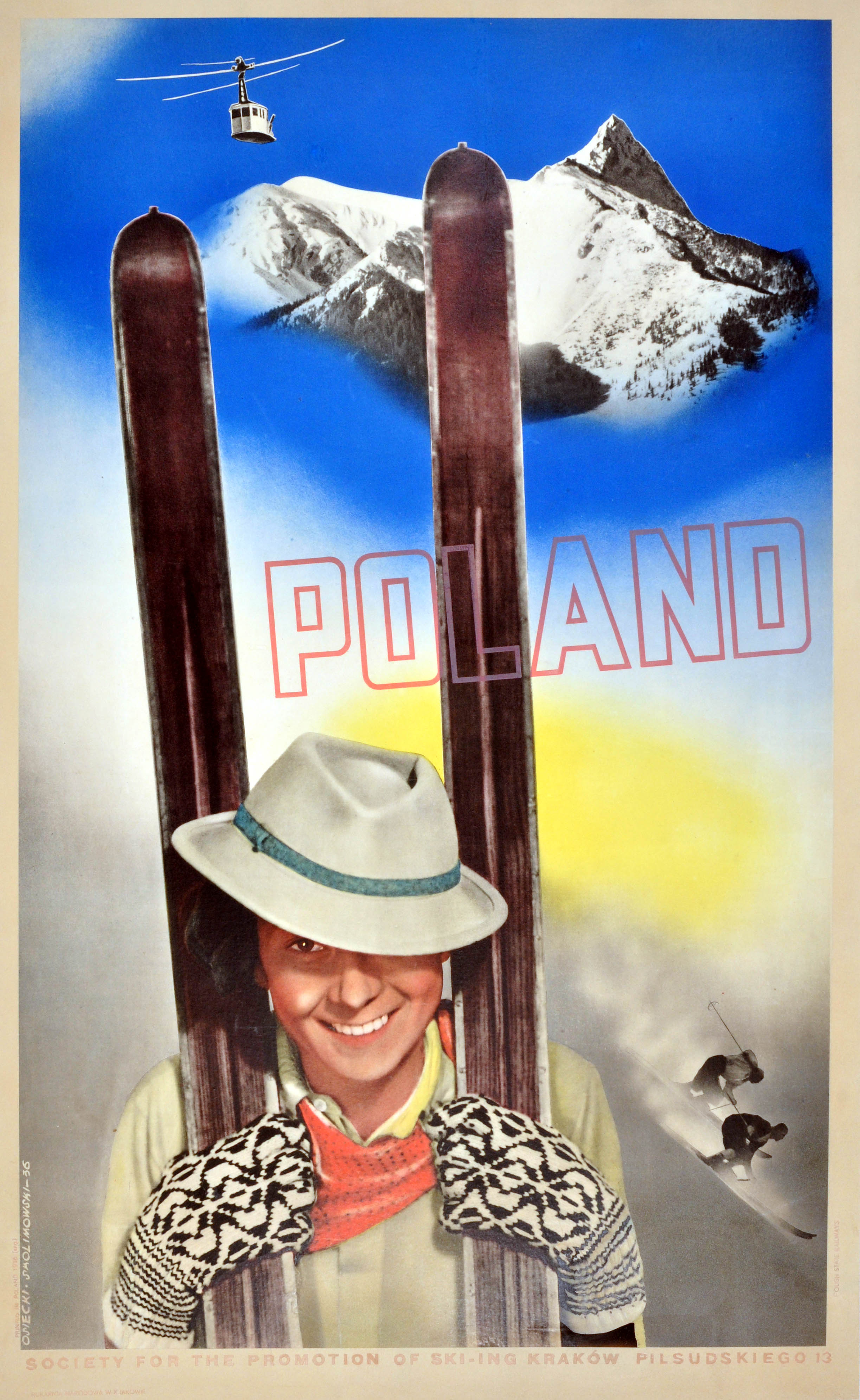 I Del Palacio  Original Mid Century Modern Poster For The