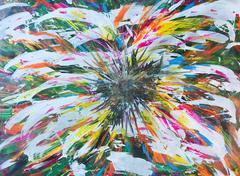 Sunflower Motherhood, Original, Acrylic Paint, Canvas, Sun Flower, Signed