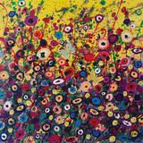Sunrise, Original, Acrylic Paint on Canvas, Landscape, Personally Signed