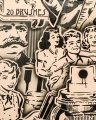 Vintage Art Add (Cappuccino / Black Edition 3)