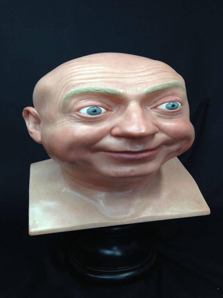 John Humphreys (Self Portrait) - Sculpture by John Humphreys