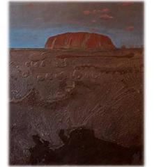 Uluru at Sunset 4, Landscape, Original, Signed, Excellent Art Reviews