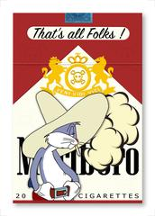 "THAT""S ALL FOLKS! Bugs Bunny Marlboro Cigarettes Limited Edition of 100"