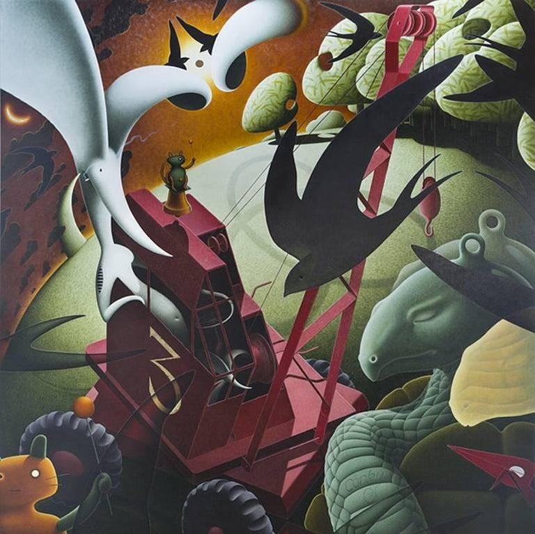 Cheap tang, Original, Death and change, Oil paint, Linen, Excellent Art Reviews