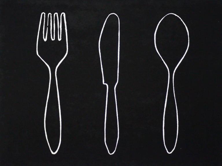 Fork - knife - spoon