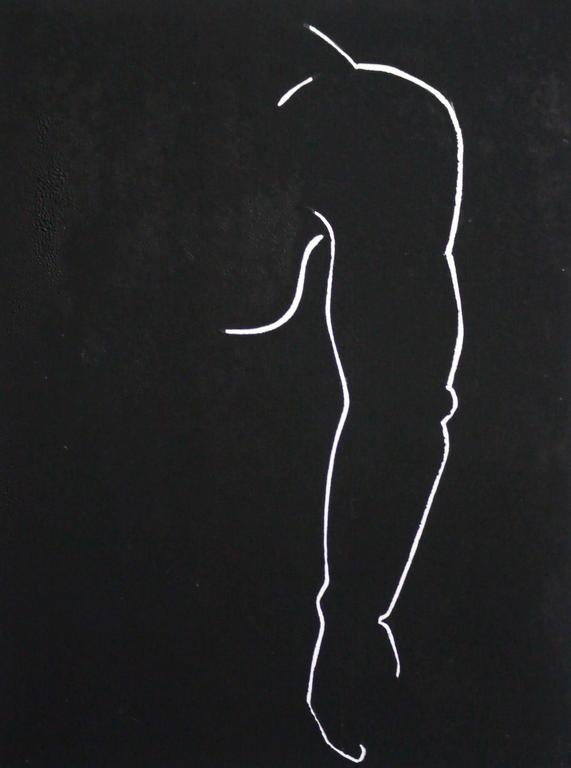 Aimée Elizabeth Parker Figurative Art - Male torso