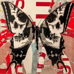 Skull Butterfly (Red Edition)