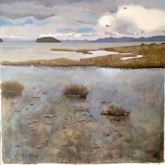 New Zealand Seascape, Original, Landscape, Signed, Excellent Art Reviews