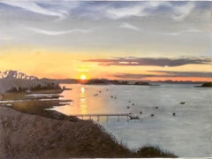 Pleasant Bay, Cape Cod USA, Original,  Nature, America, Excellent, Art Reviews