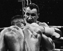 Last Seconds of The First Round, Anthony Joshua vs Wladimir Klitschko