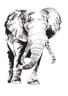 Love me Save Me, ELEPHANT; portion of proceeds benefit WWF, signed & dedicated