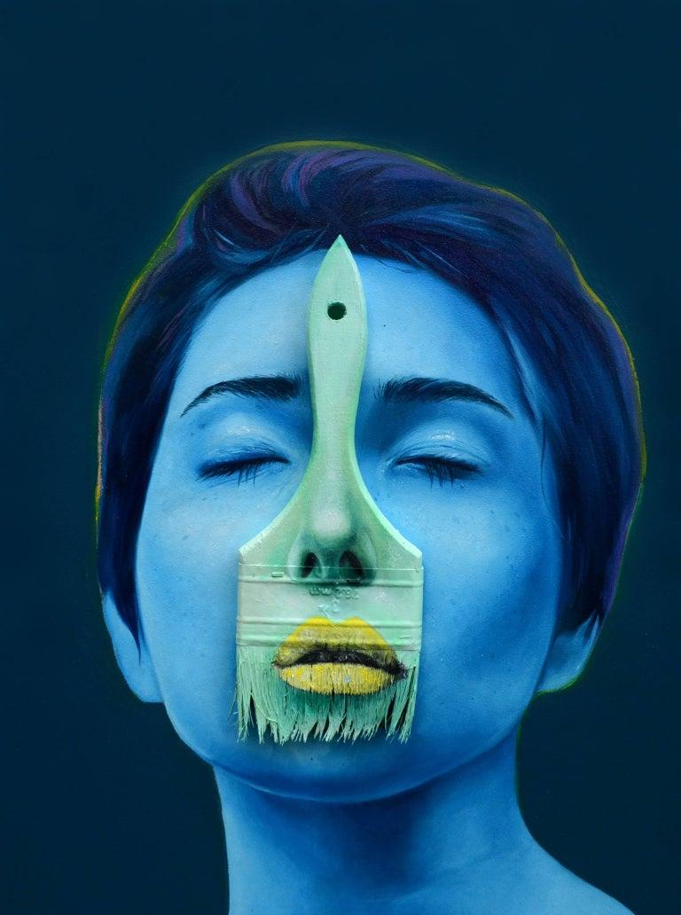 Just between me. Original. - Painting by Alex Achaval