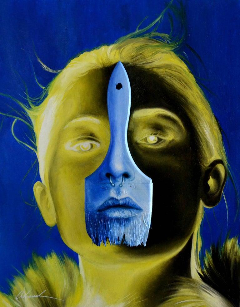 Lemon Light. Orignal. - Mixed Media Art by Alex Achaval