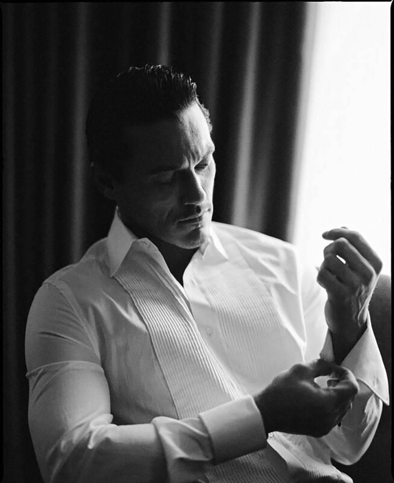 Luke Evans Black and White photography Limited Edition of 11 Personally Signed