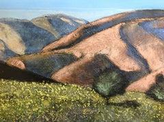 Judean Hills, Israel, Landscape, Original, Oil Canvas, Signed, Good Art Reviews