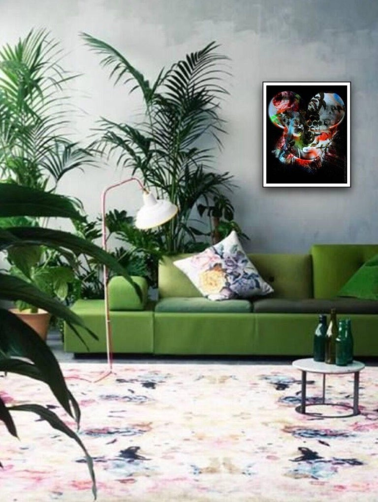 Mickey Girl – Pop Graffiti / Color - Print by David Chevtaikin