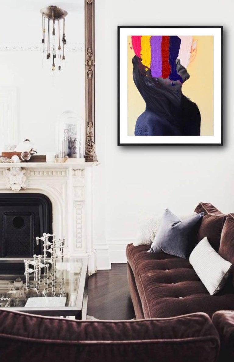 Love Imitation - Contemporary Mixed Media Art by Alex Achaval