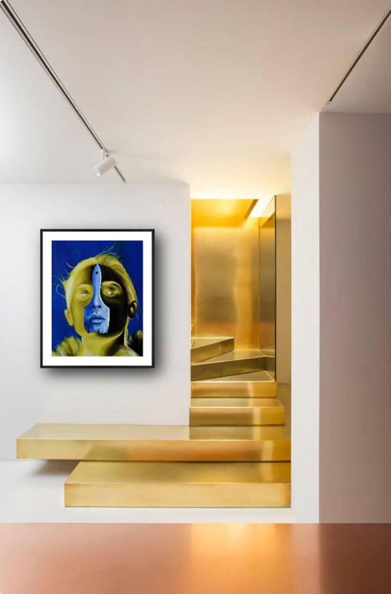 Lemon Light. Orignal. - Contemporary Mixed Media Art by Alex Achaval