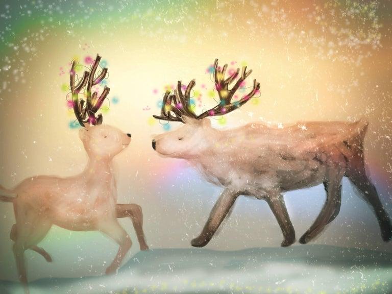 Claire Westwood Animal Print - Deer
