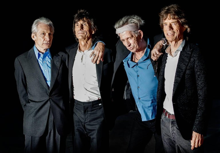 Rolling Stones, Colour Celebrity Photography, Limited Edition Print of 5