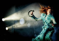 Florence and the Machine, Celebrity Colour Photography.signed