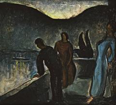 Three Figures in the Night
