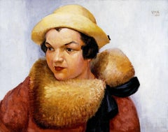Untitled (Woman in Yellow Fur)