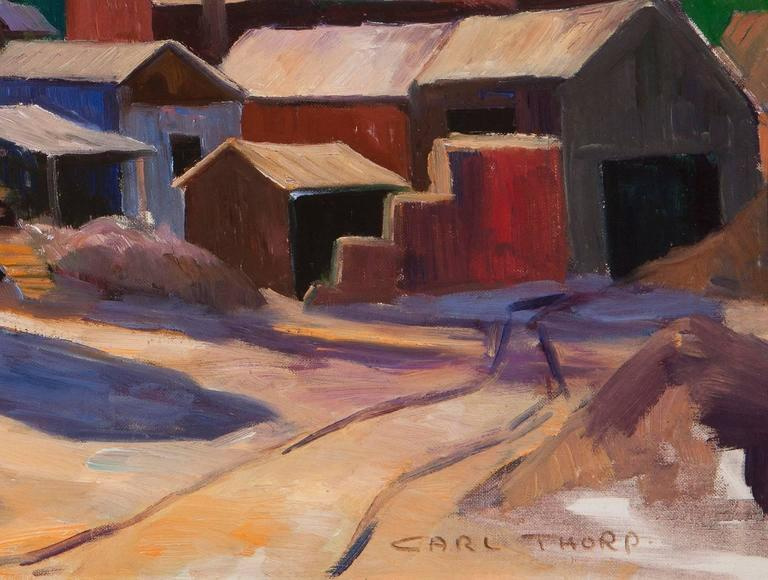 Gold Mine, Mother Lode - Painting by Carl Thorp