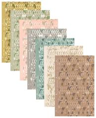 Set of 7 Frank Lloyd Wright Wallpaper Samples